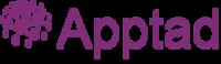 Apptad logo notag and shadow colormdpi