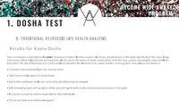 Dosha test kapha english excerpt
