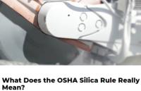 Silica rule