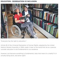 Blog post   education