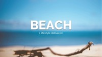 Beach clean 2018