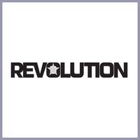Revolution logo border
