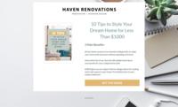 Haven renovations mini project