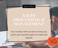 Va sales processing