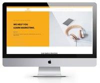 Branded bee media homepage