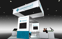 Exhibition booth commonwell health alliance