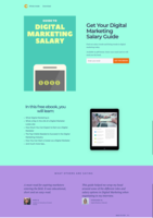 Opt in page for salary e book   lead magnet (1)