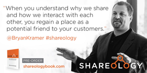 Shareology Book by Bryan Kramer logo