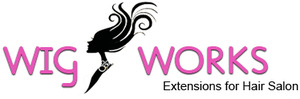 Wig Works and Extensions for Hair Salon logo