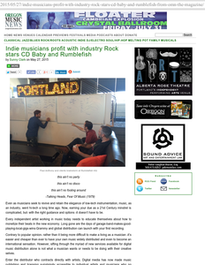 Oregon Music News logo