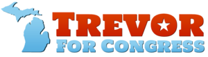 Trevor Thomas for Congress logo
