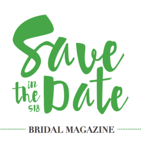Save the Date in the 518 Magazine logo