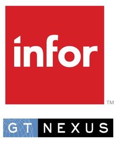 GT Nexus, an Infor Company logo