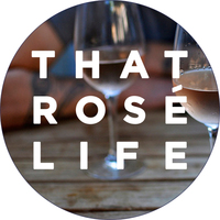 That Rosé Life & The Drop Wine logo