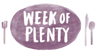 Week of Plenty logo