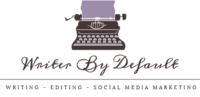Writer By Default logo