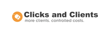 Clicks and Clients logo