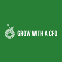 Grow with a CFO logo
