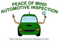 Peace of Mind Automotive Inspection logo