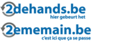 2dehands.be (ebay classifieds group) logo