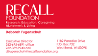 RECALL FOUNDATION logo