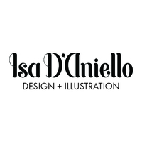 Isa D'Aniello Design + Illustration logo