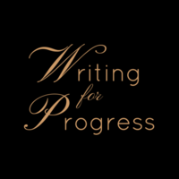 Elaine Coe | Writing for Progress logo