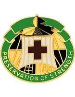 Blanchfield Army Community Hospital logo