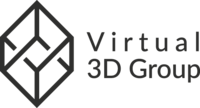 Virtual 3D Group logo
