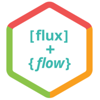Flux + Flow logo