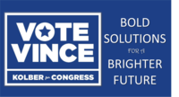 Vince Kolber for Congress logo