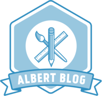 Albert Blog  logo