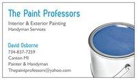 the paint professors  logo