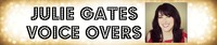 Julie Gates Voice Overs logo