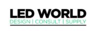 L.E.D World logo
