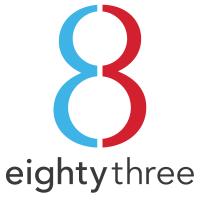 Eighty Three Creative logo