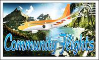 Community Flights logo