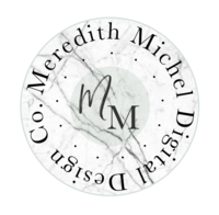 Meredith Michel Digital Design Co. logo