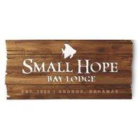 Small Hope Bay Lodge logo