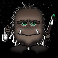 Hairy Monster Studios logo