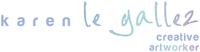 Karen le Gallez logo