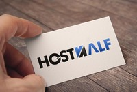 HostHalf logo