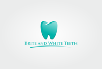 Brite and White Teeth logo