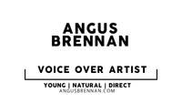 Angus Brennan Voice Over Artist logo
