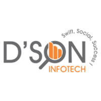 deson infotech logo