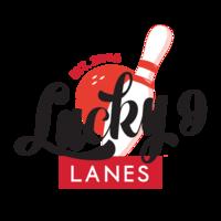 Lucky 9 Lanes logo