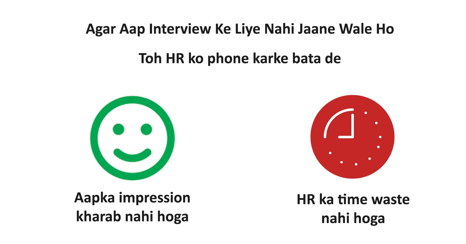 Say No To Interview