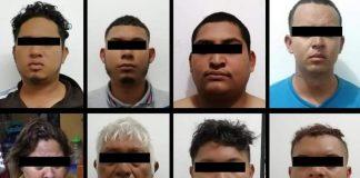 Capturados en Chiapas, México
