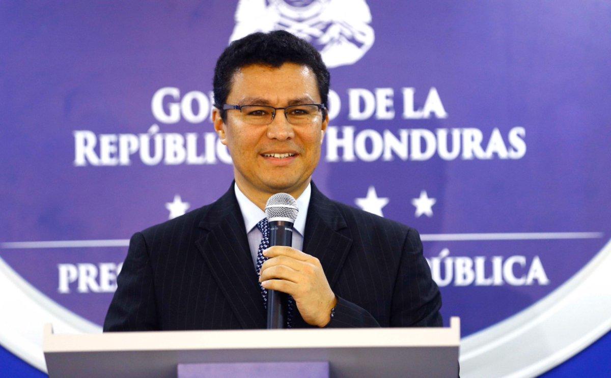 Eba Diaz funcionario del Gobierno de Honduras