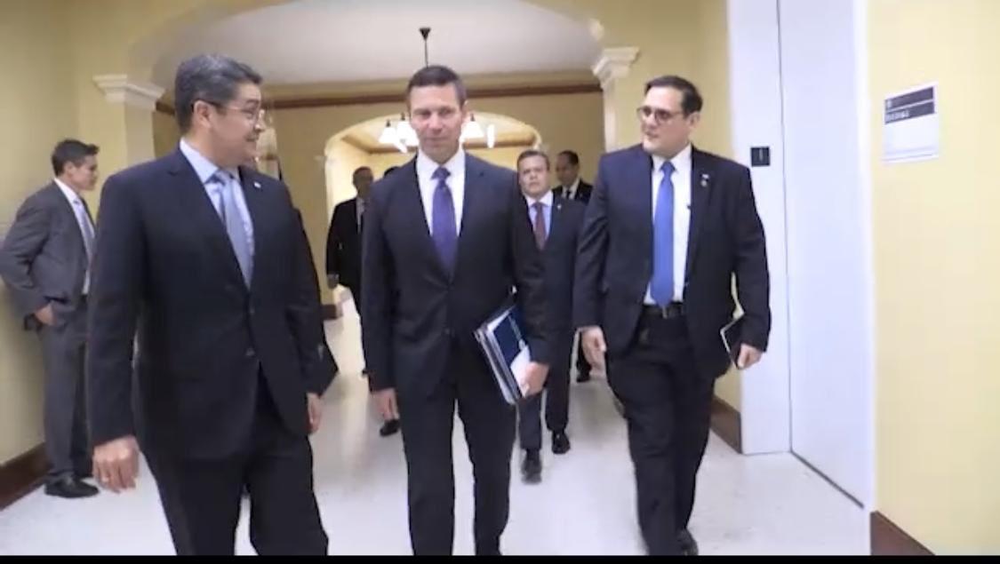Estados Unidos y Honduras trabajarán en conjunto para erradicar la migración irregular